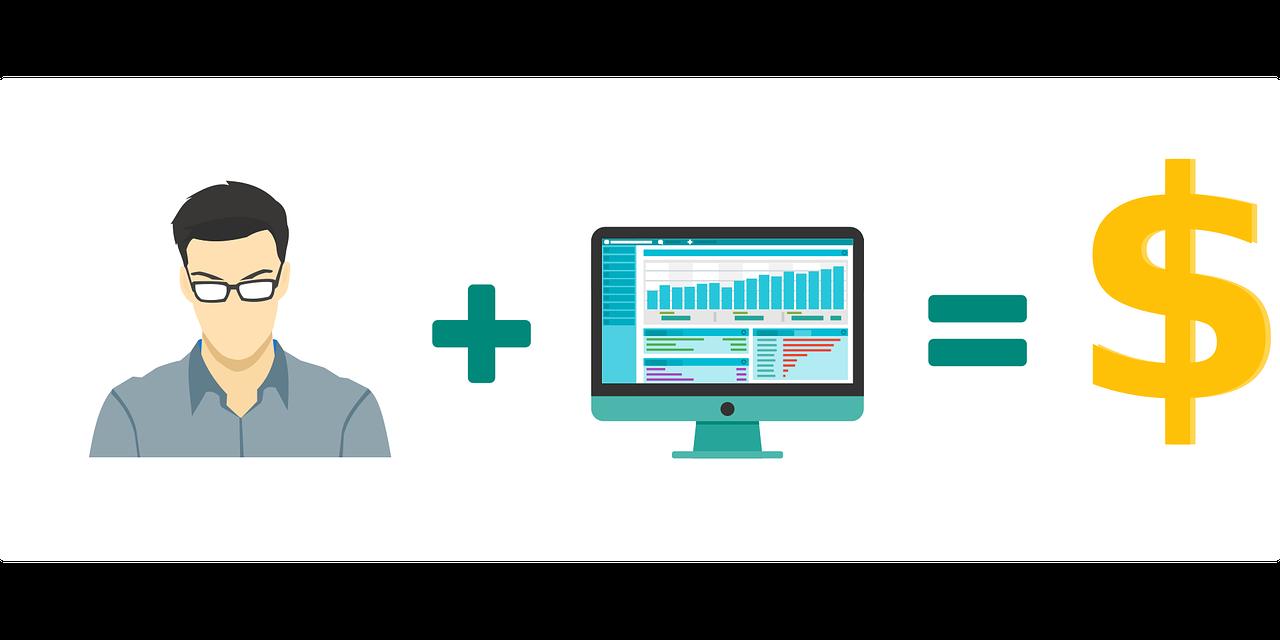 ilustracja sposoby jak zarabiać na blogu
